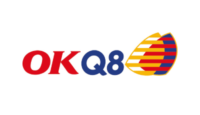 OKQ8 Supporter logotyp